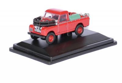 Land Rover serie II pompier