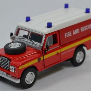 Land Rover Serie 3 109 Fire and Rescue Pompiers