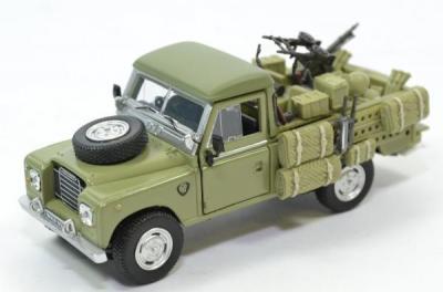 Land rover serie 3 109 sas anglais 1975 cararama 1 43 54060 1