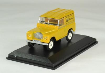 Land Rover serie III SWB hard top AA Service