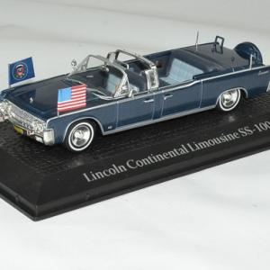 Lincoln Continental SS-100X du président Américain John Fitzgerald Kennedy démocrate 1961