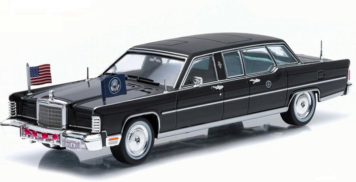 Lincoln president limo 1972 g ford greenlight 1 43 86110b autominiature01 1