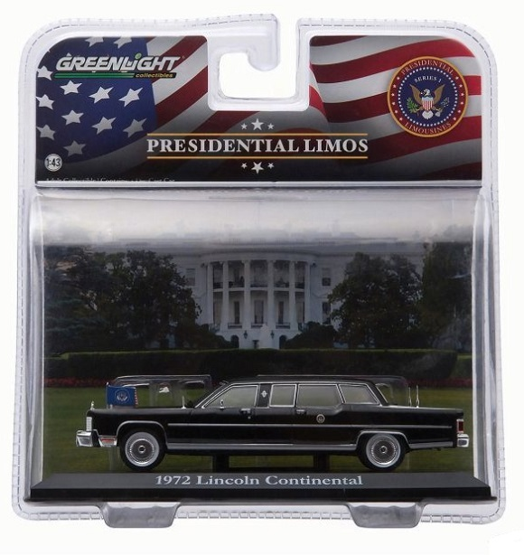 Lincoln president limo 1972 g ford greenlight 1 43 86110b autominiature01 2