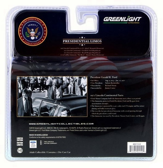 Lincoln president limo 1972 g ford greenlight 1 43 86110b autominiature01 3