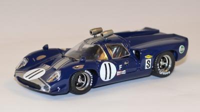 Lola T70 #11 De Udy Sebring 1968