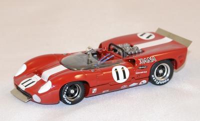 Lola T70 Spyder 1967 #11 Motscheker Best 1-43