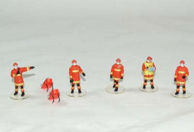 Figurines Sapeurs pompiers BMPM