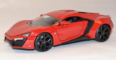 Lykan Hypersport fast and furious 7 Jada Toys 1-24