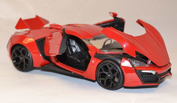 lykan hypersport fast and furious 7 miniature jada toys 1 24. Black Bedroom Furniture Sets. Home Design Ideas