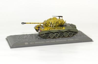 Pershing M26 Detroit arsenal korea 1951 6th bataillon