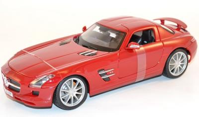 Mercedes SLS AMG  C197 rouge miniature