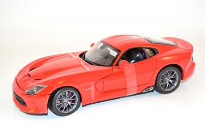 Dodge Viper GTS SRT 2013 red