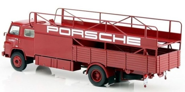 Man 635 racing transporter porsche 1 18 schuco autominiature01 2