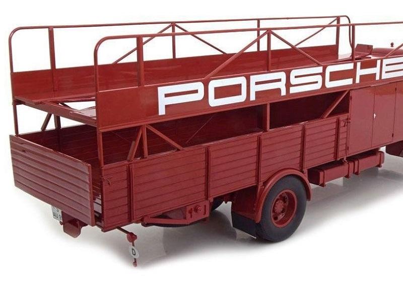 Man 635 racing transporter porsche 1 18 schuco autominiature01 3