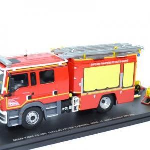 Man TGM 15-290 Gallin FPTGP tunnel Sapeurs Pompiers SDIS 74 Haute Savoie edition limitée