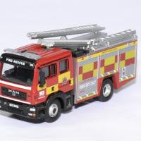 Man pompier echelle fpt hertfordshire 1 76 oxford autominiature01 1