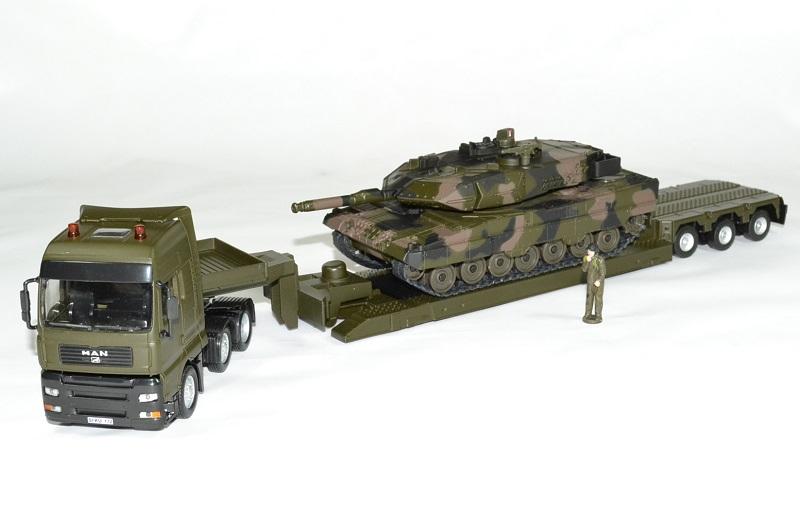 Man tga avec char leopard militaire 1 43 siku autominiature01 1