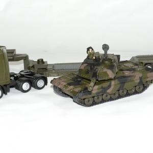 Man tga avec char leopard militaire 1 43 siku autominiature01 2
