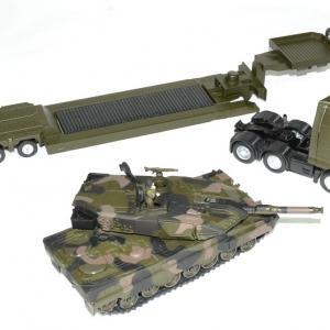 Man tga avec char leopard militaire 1 43 siku autominiature01 3