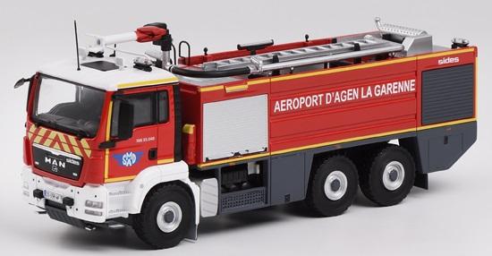Man tgs 33 540 xherpa aeroport pompier 1 43 eligor autominiature01 1