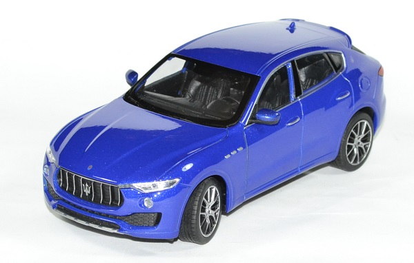 Maserati levante 1 24 bleu welly autominiature01 1