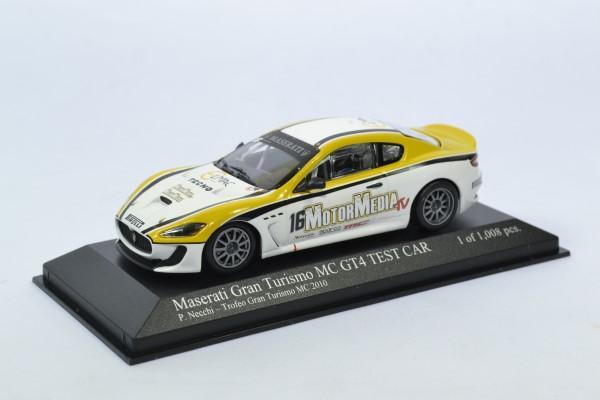 Maserati mc gt4 test car 2010 necchi supertrofeo 1 43 minichamps autominiature01 400101216 1