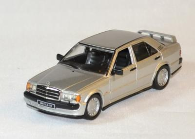 Mercedes 190 E 2.5 16v argent de 1988