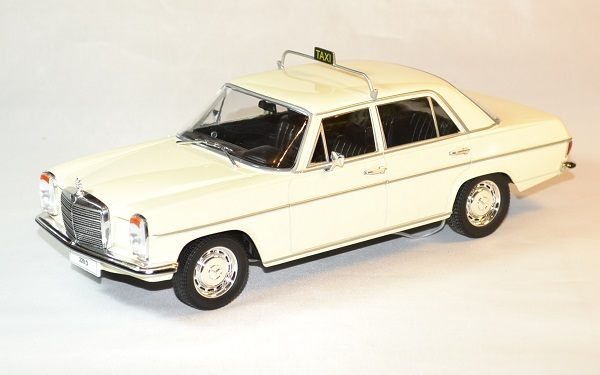 Mercedes 220 taxi w115 mdg 1 18 autominiature01 1