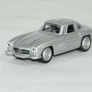 Mercedes 300 SL argent 1955