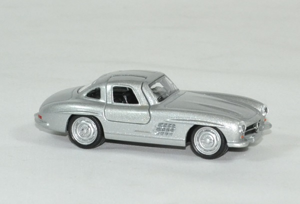 mercedes 300 sl argent 1955 miniature by norev 1 64. Black Bedroom Furniture Sets. Home Design Ideas