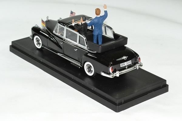 Mercedes 330 adenauer kennedy 1963 rio 1 43 autominiature01 2