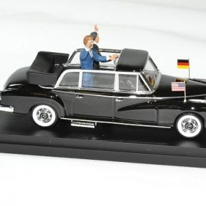 Mercedes 330 adenauer kennedy 1963 rio 1 43 autominiature01 3