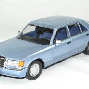 Mercedes 560 SEL 1991 Bleu perlé métallisé