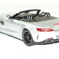 Mercedes amg gt c roadster 2017 argent 1 18 norev autominiature01 2