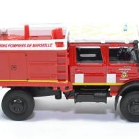 Mercedes ben unimog pompiers bmpm ccfl 1 50 bburago autominiature01 32017rd 3