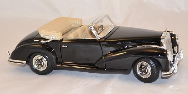 Mercedes benz 300 1955 noire 1 18 maisto autominiature01 com 4