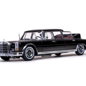 Mecedes-benz 600 landaulet 1966 noire limousine longue