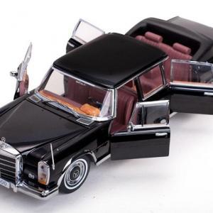 Mercedes benz 600 landaulet 1966 sunstar 1 18 autominiature01 3