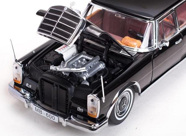 Mercedes benz 600 landaulet 1966 sunstar 1 18 autominiature01 4