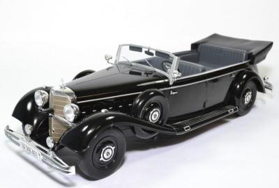 Mercedes-benz 770 Cabriolet (W150) 1938 Noire