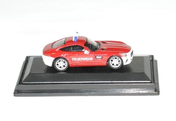 Mercedes benz amg gt pompier schuco 1 87 autominiature01 2