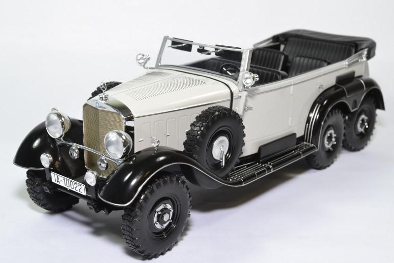 Mercedes benz cab g4 w31 gris noir 1938 mdg 1 18 mcg18208 autominiature01 1