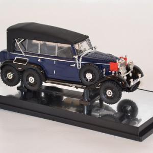 Mercedes benz g4 cabriolet ferme 1938 signature 1 43 autominiature01 com 2