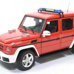 Mercedes benz g63 pompiers 2015 i scale 1 18 autominiature01 0037 1