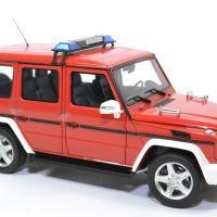 Mercedes benz g63 pompiers 2015 i scale 1 18 autominiature01 0037 3
