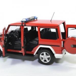 Mercedes benz g63 pompiers 2015 i scale 1 18 autominiature01 0037 4