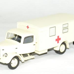 Mercedes benz l3000 croix rouge ambulance 1 43 premium autominiature01 1