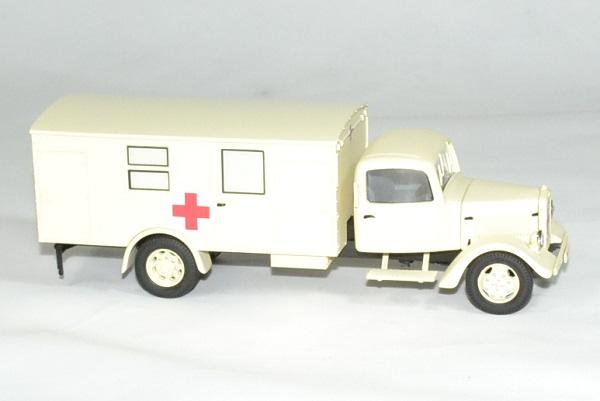 Mercedes benz l3000 croix rouge ambulance 1 43 premium autominiature01 3
