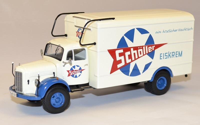 Mercedes benz l3500 camion miniature scholler 1954 autominiature01 1