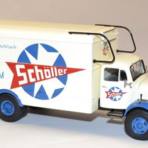 Mercedes benz l3500 camion miniature scholler 1954 autominiature01 3